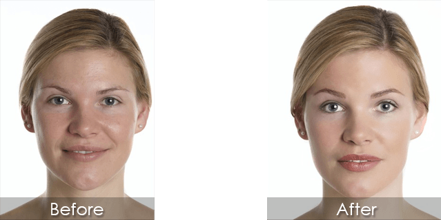 before and after permanent cosmetics