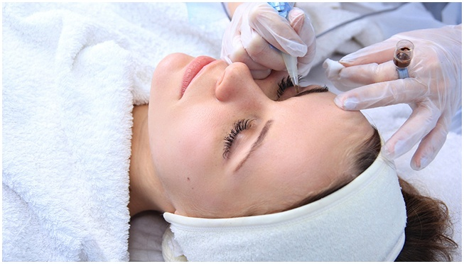 permanent makeup treatment