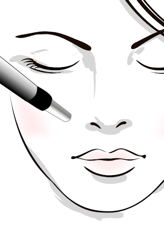 Illustration of Dermapen microneedling